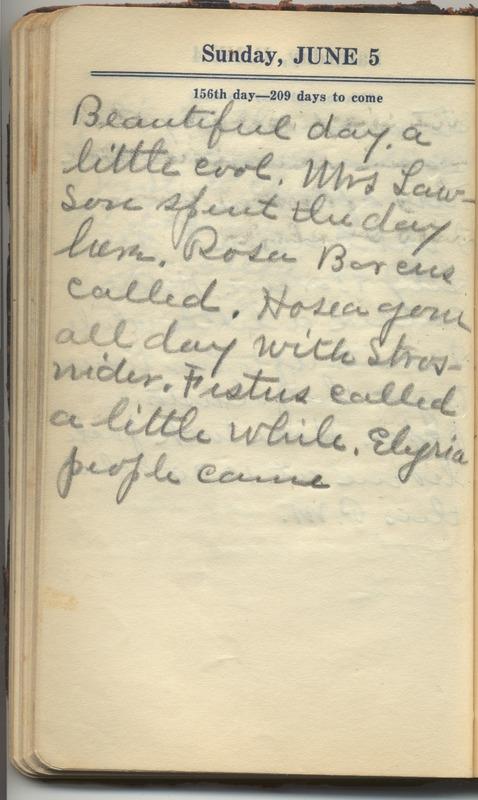 Roberta Hopkins' Diary 1927 (p. 162)