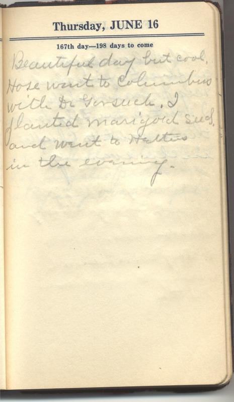 Roberta Hopkins' Diary 1927 (p. 173)