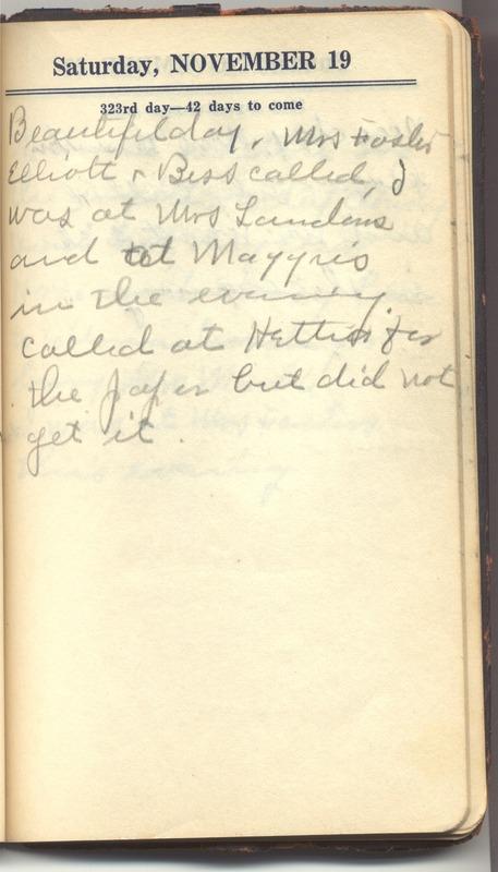 Roberta Hopkins' Diary 1927 (p. 329)