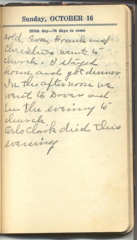 Roberta Hopkins' Diary 1927 (p. 295)