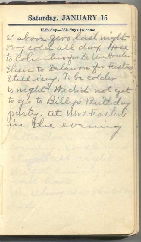Roberta Hopkins' Diary 1927 (p. 21)