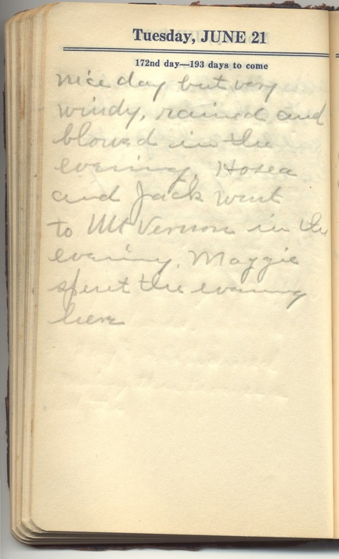 Roberta Hopkins' Diary 1927 (p. 178)