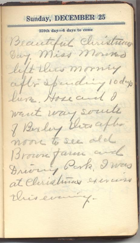 Roberta Hopkins' Diary 1927 (p. 365)
