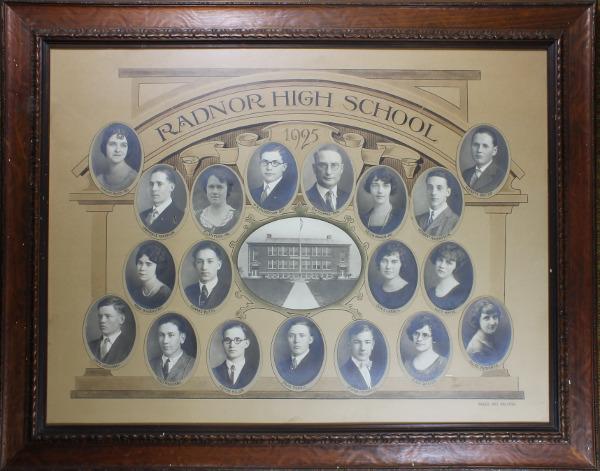 Radnor High School Senior Class Picture 1925