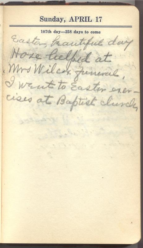Roberta Hopkins' Diary 1927 (p. 113)