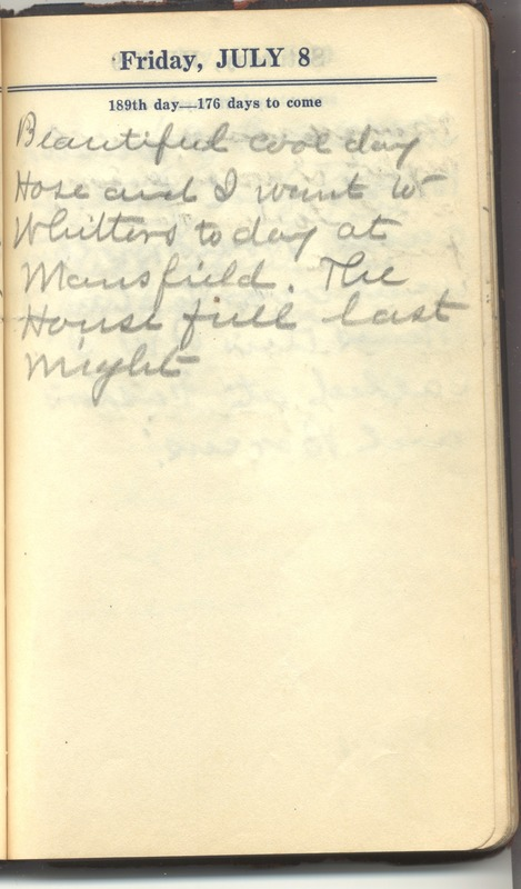 Roberta Hopkins' Diary 1927 (p. 195)