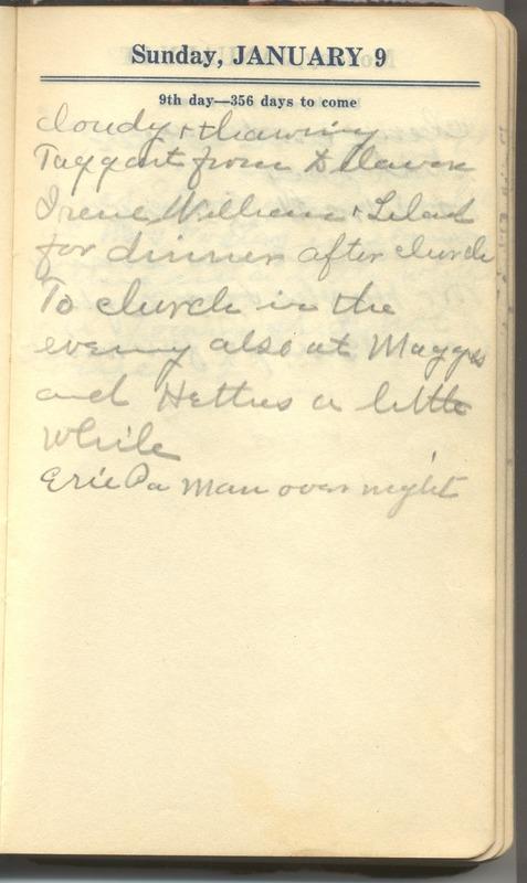 Roberta Hopkins' Diary 1927 (p. 15)