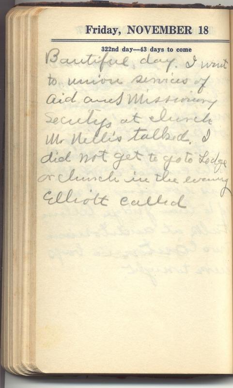 Roberta Hopkins' Diary 1927 (p. 328)