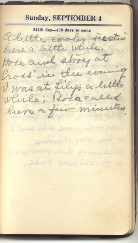 Roberta Hopkins' Diary 1927 (p. 253)