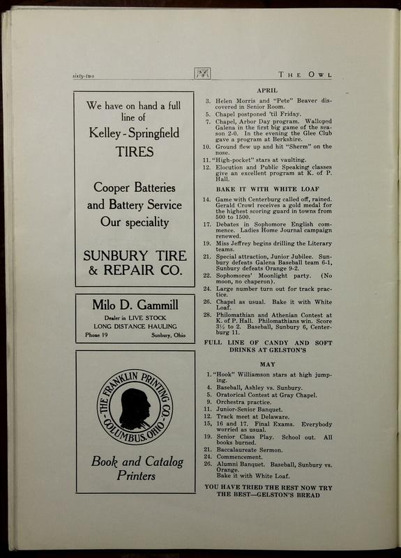 The Owl, Vol. II, 1922 (p.64)
