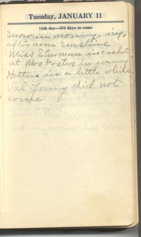 Roberta Hopkins' Diary 1927 (p. 17)