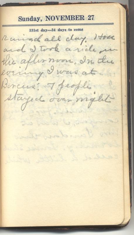 Roberta Hopkins' Diary 1927 (p. 337)