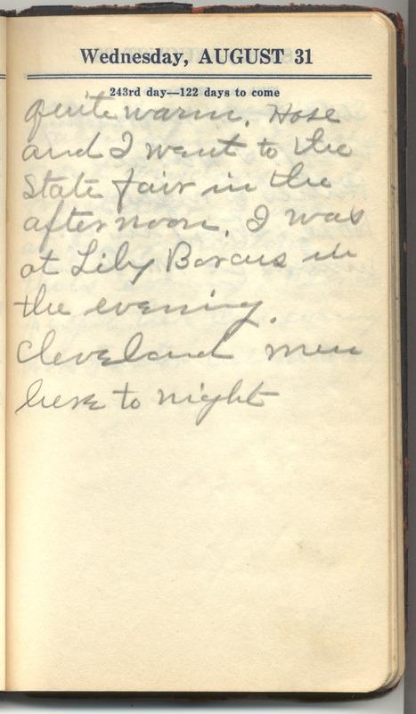 Roberta Hopkins' Diary 1927 (p. 245)