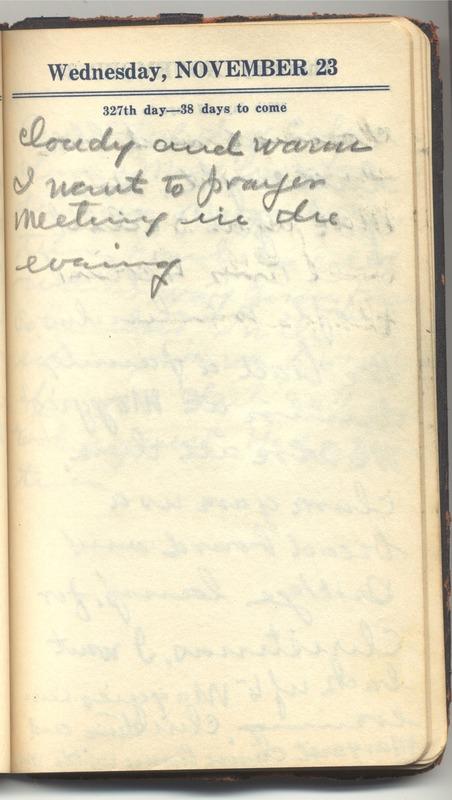 Roberta Hopkins' Diary 1927 (p. 333)