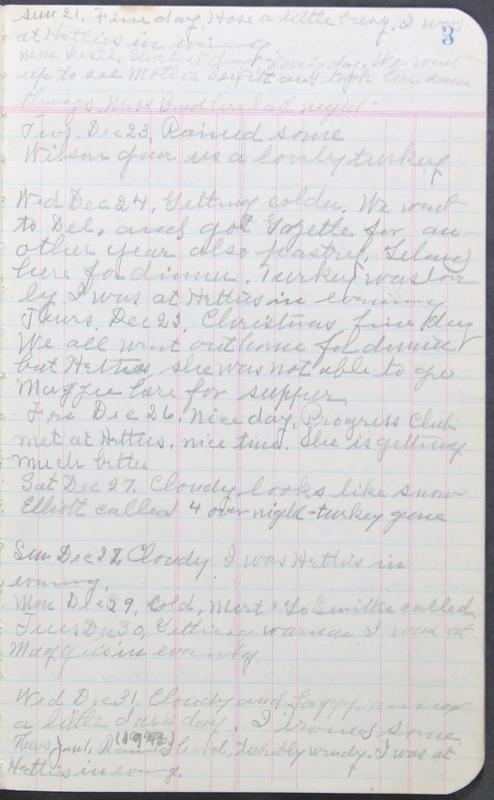 Roberta Hopkins' Journal 1941-1943 (p. 17)