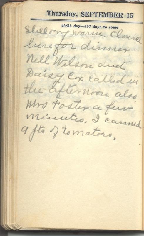 Roberta Hopkins' Diary 1927 (p. 264)