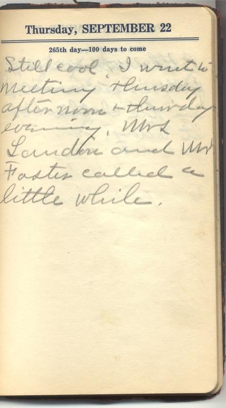 Roberta Hopkins' Diary 1927 (p. 271)