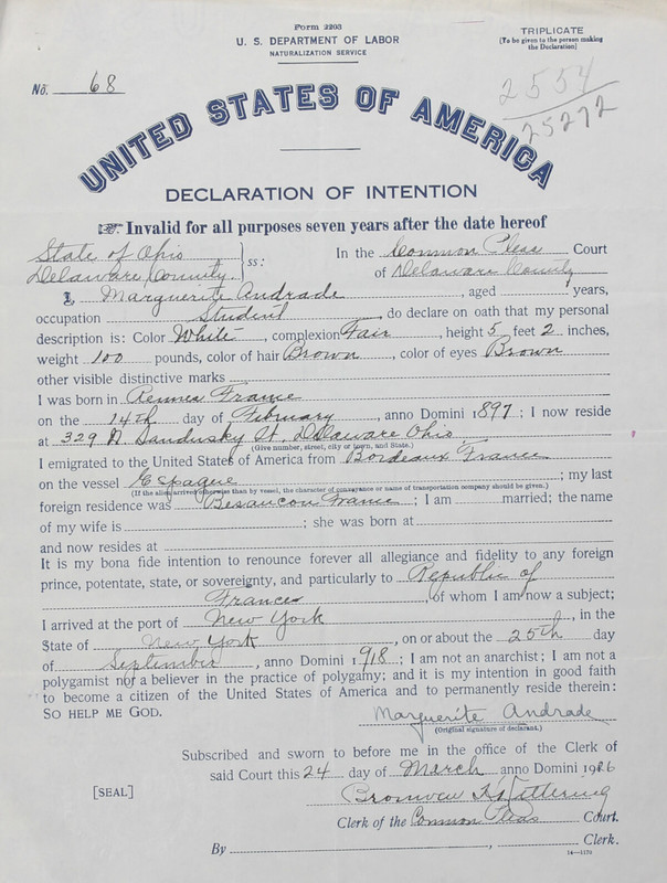 Naturalization Records Delaware County OH (p. 64)