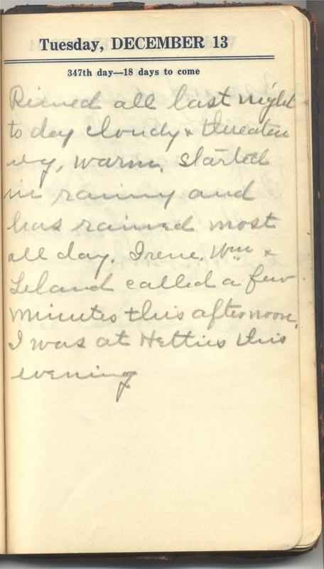 Roberta Hopkins' Diary 1927 (p. 353)
