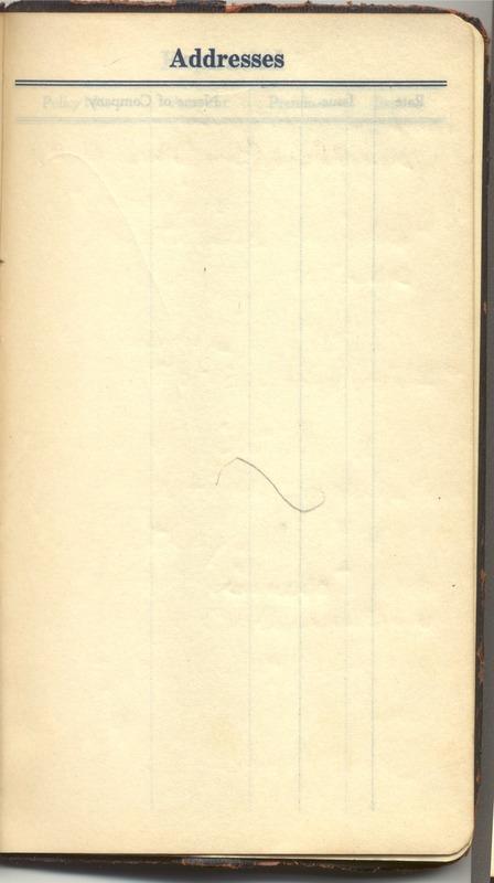 Roberta Hopkins' Diary 1927 (p. 381)