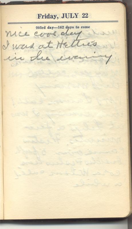 Roberta Hopkins' Diary 1927 (p. 209)