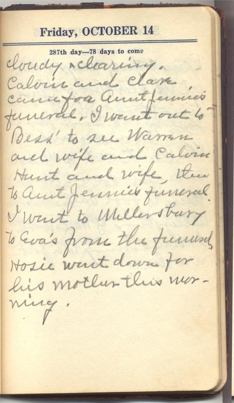 Roberta Hopkins' Diary 1927 (p. 293)