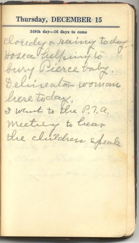 Roberta Hopkins' Diary 1927 (p. 355)