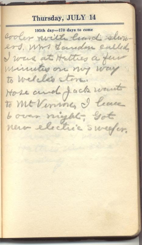 Roberta Hopkins' Diary 1927 (p. 201)