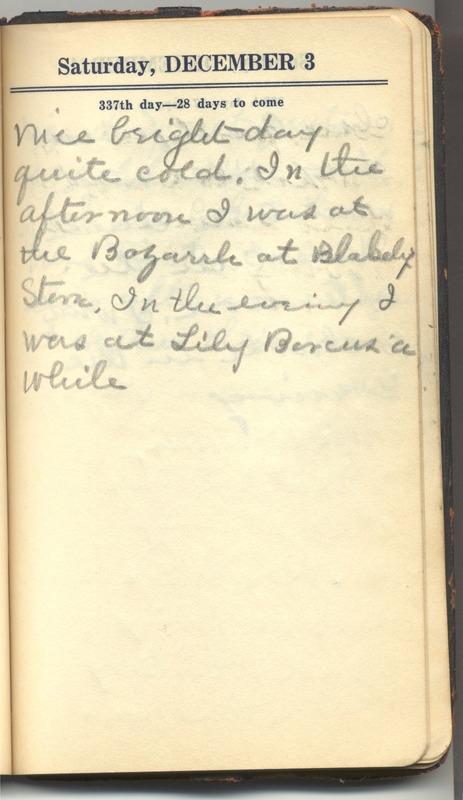Roberta Hopkins' Diary 1927 (p. 343)