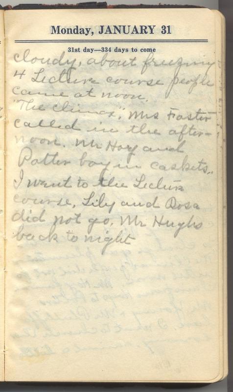 Roberta Hopkins' Diary 1927 (p. 37)