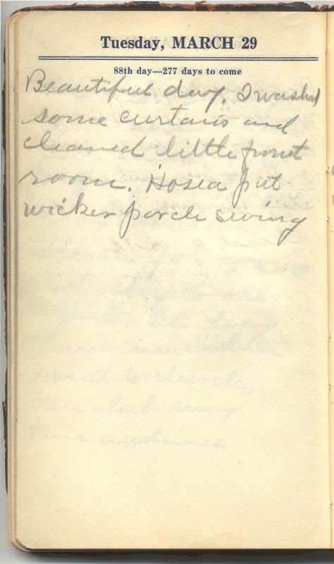 Roberta Hopkins' Diary 1927 (p. 94)