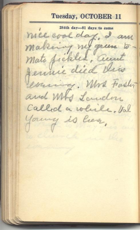 Roberta Hopkins' Diary 1927 (p. 290)