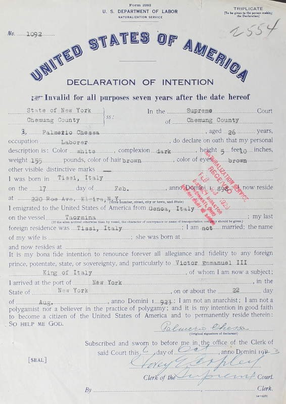 Naturalization Records Delaware County OH (p. 373)
