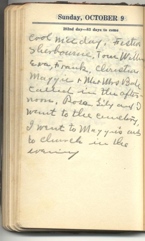 Roberta Hopkins' Diary 1927 (p. 288)