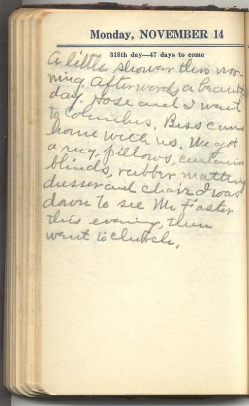 Roberta Hopkins' Diary 1927 (p. 324)