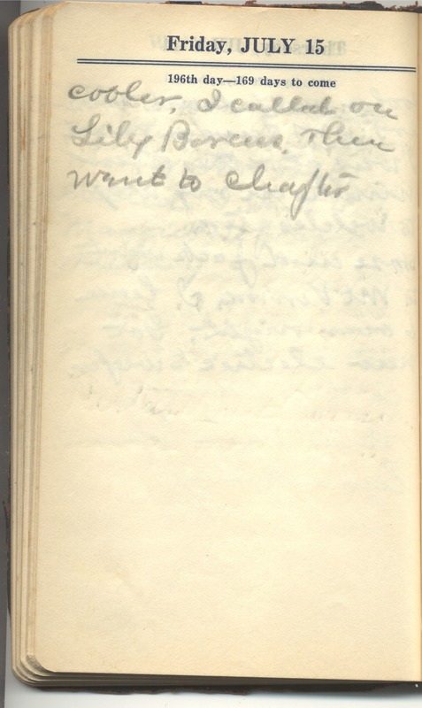 Roberta Hopkins' Diary 1927 (p. 202)