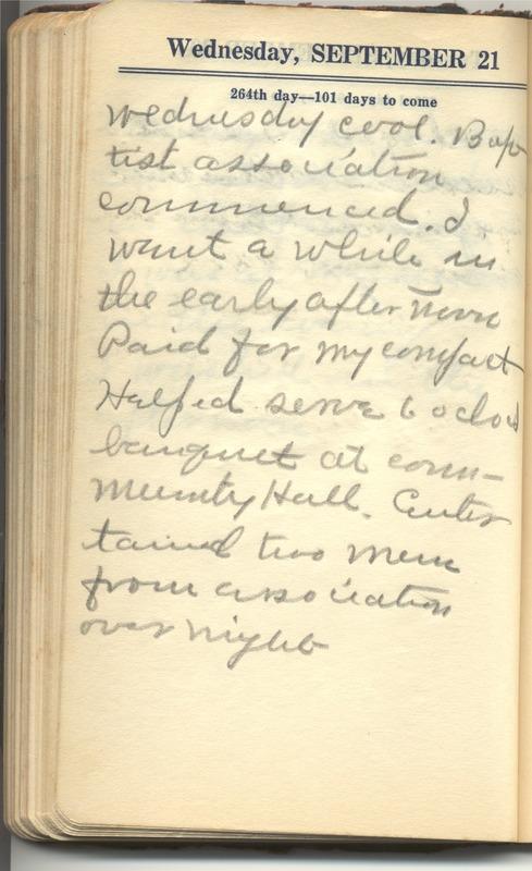 Roberta Hopkins' Diary 1927 (p. 270)
