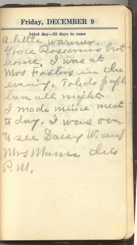 Roberta Hopkins' Diary 1927 (p. 349)