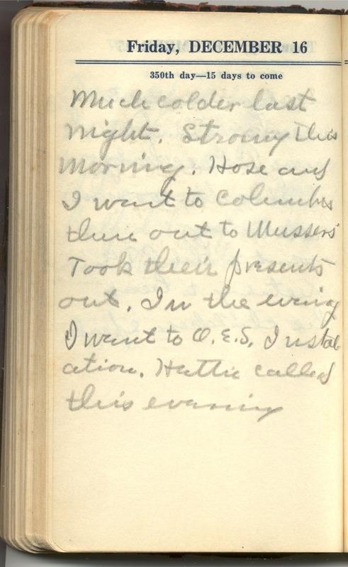Roberta Hopkins' Diary 1927 (p. 356)