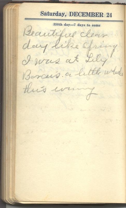 Roberta Hopkins' Diary 1927 (p. 364)
