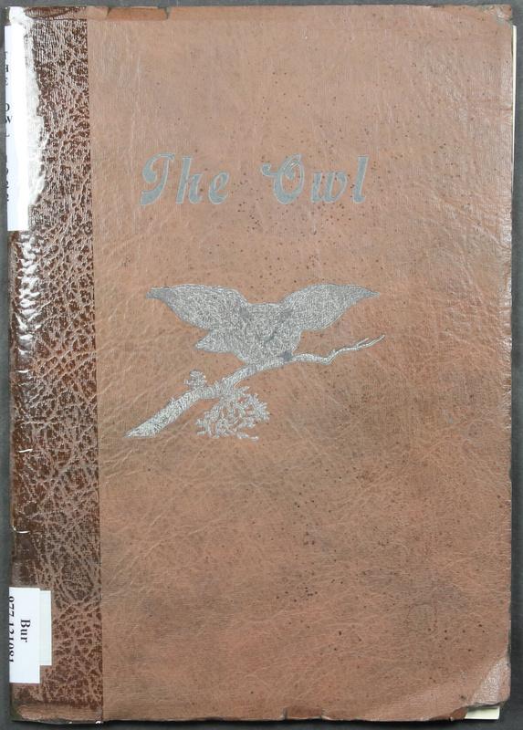 The Owl, Vol. II, 1922 (p.1)