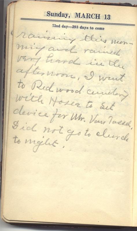 Roberta Hopkins' Diary 1927 (p. 78)