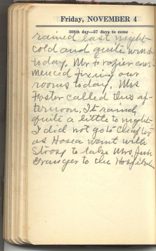 Roberta Hopkins' Diary 1927 (p. 314)