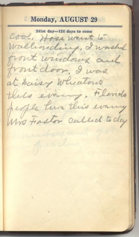 Roberta Hopkins' Diary 1927 (p. 247)