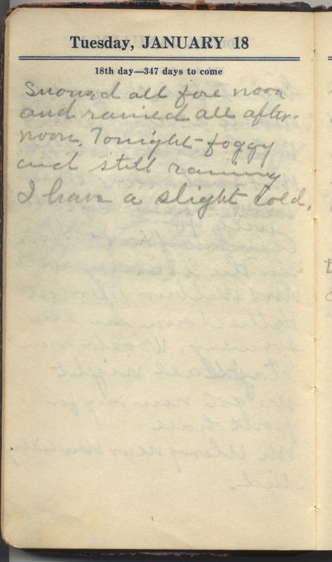Roberta Hopkins' Diary 1927 (p. 24)