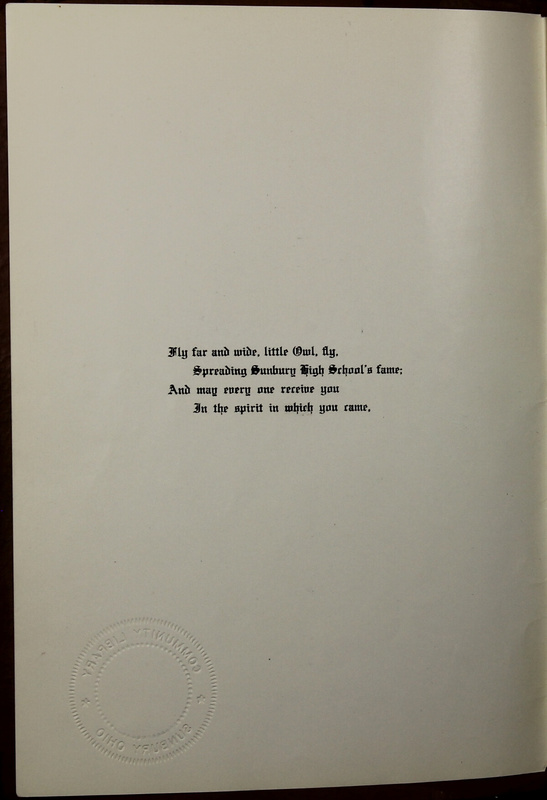 The Owl, Vol. II, 1922 (p.4)