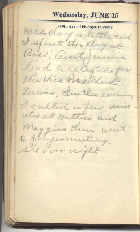 Roberta Hopkins' Diary 1927 (p. 172)