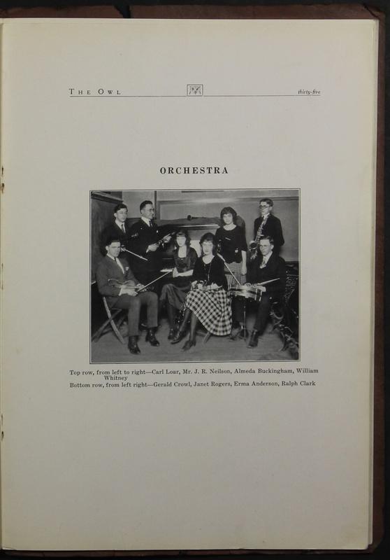 The Owl, Vol. II, 1922 (p.37)