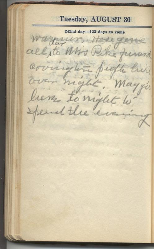 Roberta Hopkins' Diary 1927 (p. 252)