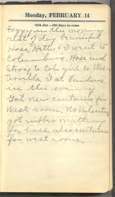 Roberta Hopkins' Diary 1927 (p. 51)